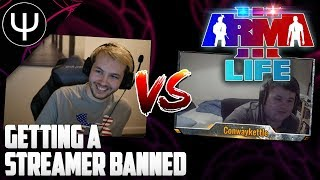 ARMA 3: Kamdan Life Mod — Getting a Streamer BANNED!