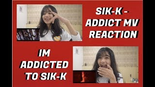 식케이(Sik-K) - ADDICT (Prod. Girlnexxtdoor) M/V REACTION | [SIK-K ONLY REALEASES BOPS]