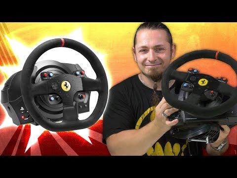 THRUSTMASTER T300 RS GT ⚔️ Logitech G29 🏁 Lenkrad-Vergleich [Review, Technik, German, Deutsch]