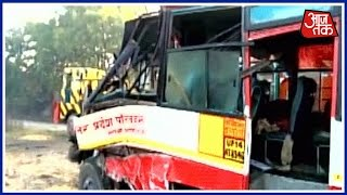 Shatak Aaj Tak 6 Killed In Bus Accident In Bareilly