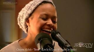 """James Ross @ Chrisette Michele - """"Better"""" (Rehearsal / Shock City Studio) - www.Jross-tv.com"""
