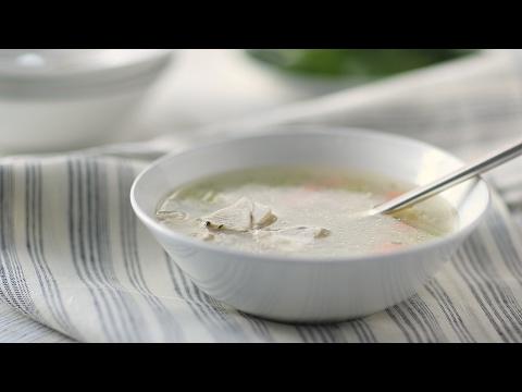 Peruvian Chicken Soup- Everyday Food with Sarah Carey