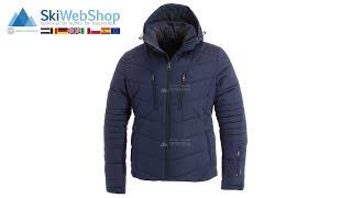 Tenson, Theo, ski jacket, men, Dark blue