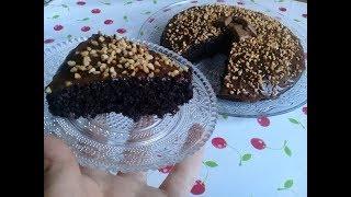 الكيكة المجنونة العجيبة بمقادير بسيطة و تحضير غريب خفيفة و تدووب بالفم Crazy Cake