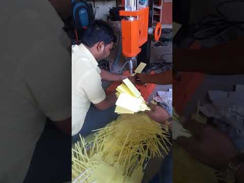 Ultrasonic Plastic Eyelet Welding Machine