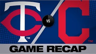 Santana's Clutch Homer Powers Indians To Win | Twins-Indians Game Highlights 7/14/19