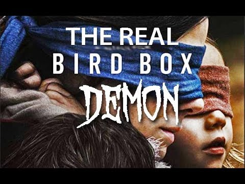 The REAL Bird Box DEMON Haunting  ( Be Careful Watching This )