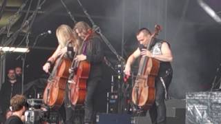 Apocalyptica ft. Franky Perez - House of Chains (Live @ Download Festival Paris 2016)