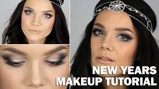 New Years Makeup tutorial (with subs) - Linda Hallberg Makeup Tutorials