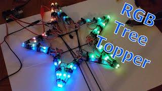 Making A WS2811 RGB Christmas Tree Topper