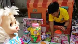 Trò Chơi Nhà Lều Bé Doli ❤ ChiChi ToysReview TV ❤ Đồ Chơi Trẻ Em Baby Fun Song