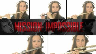 Mission Impossible Theme on Flute + Sheet Music!