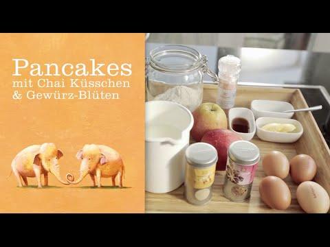 Pancakes mit Chai Küsschen - SONNENTOR