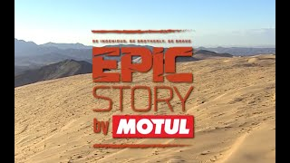 Motul - A rock saved our 4x4 at Dakar!