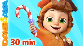 🍭 Johny Johny Yes Papa | Nursery Rhymes Collection | Baby Songs by Dave and Ava 🍭