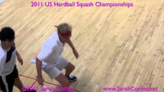 2011 US Hardball Squash Semi- Zaman Khan V Pearson Pt2 Video