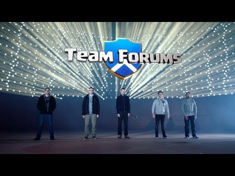 Team Forums (Clash of Clans Forums vs Reddit Rematch)