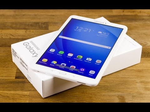 Samsung Galaxy Tab A 10.1 Unboxing: Mein erster Eindruck   Deutsch
