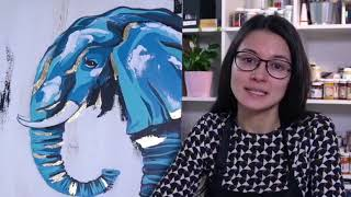 """Презентация онлайн-курса по картине """"Морской слон"""""""
