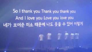 [Thai sub] Thank you 2pm from hottest @ Encore Concert