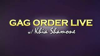 Khia Gag Order Live at The Ivory 6-18-2018