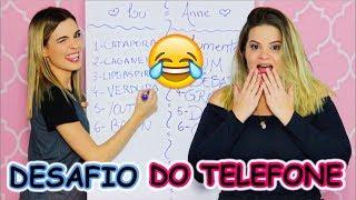 #VEDA 7 - Desafio do Telefone