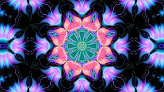 Kaleidoscope Visual Art, Kaleidoscope Calming Meditation, Kaleidoscope Background ❊0004
