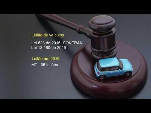 Lei regulamenta o leilão de veículos apreendidos ou abandonados em Mato Grosso