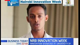 Business Today - 20th February 2018 -  Discussion on Nairobi Innovation Week