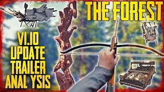 Update v1.10 Trailer Analysis | The Forest