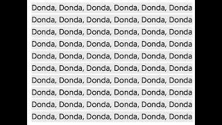 THE MEANING OF DONDA CHANT   The 58 theory is wrong. The heartbeat theory is wrong   Kanye