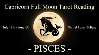 Pisces - Big Shift & Transformation! - Full Moon/Lunar Eclipse Reading