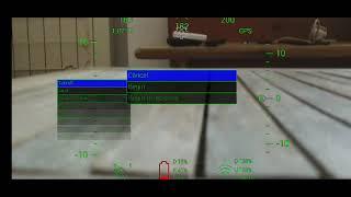 DroneVR+ test Menu - DJI FPV Mavic