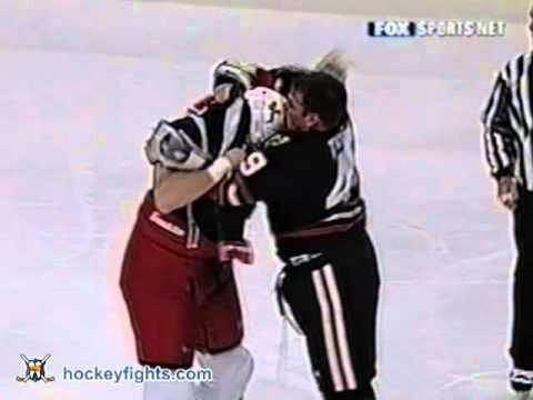 Jody Shelley vs Shawn Thornton