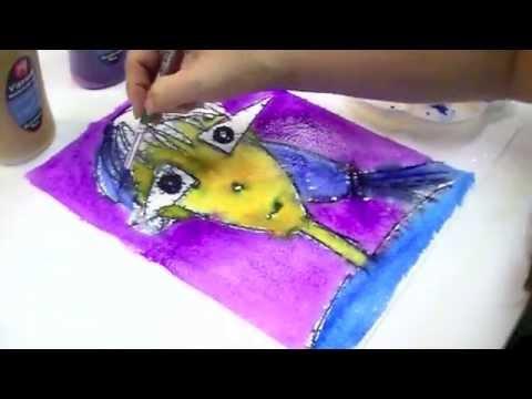 Micador Vibrant Watercolour Class Pack - Black, 220ml
