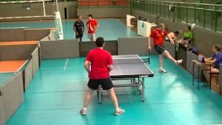 Tenis de Mesa - Michael Klefeeldt vs Thiago Rocha - I Copa MG