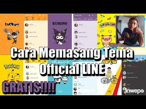Video Cara Memasang Tema LINE Official GRATIS!
