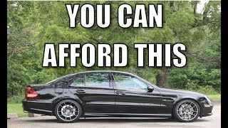 My new E55 AMG! Here's what I paid & what's wrong with it.