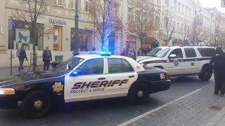 Полиция США | Погони | Автопарк | Ford Crown Victoria