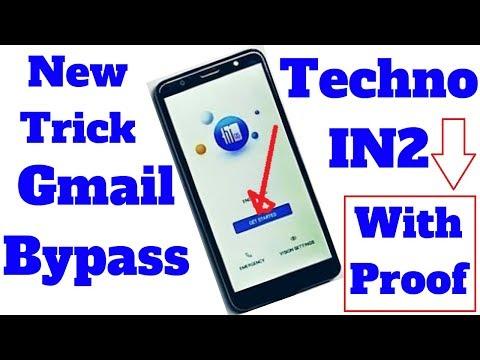 Tecno IN2 Google lock reset Frp New Method 2018 - - Видео сообщество