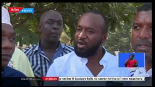 Governor Joho blocked from attending a presidential function at Mtongwe ferry by President Uhuru