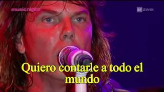 Europe New love in town live subtitulada en español