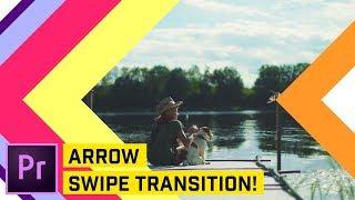 Arrow Swipe Transition Premiere Pro CC