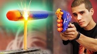 Can A NERF Dart Light A Match? (ft. Battle Universe)