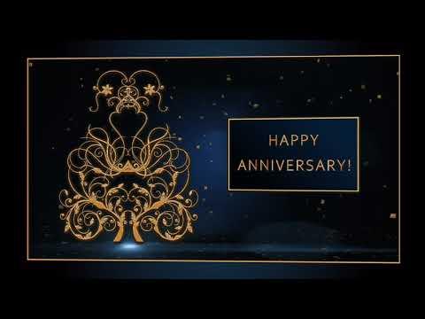 💖Happy Anniversary!💖Animation Greeting Cards #4K #WhatsApp