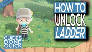 How To Get A Ladder In Animal Crossing New Horizons