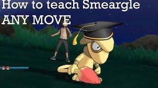 Smeargle  - (Pokémon) - How to teach your Smeargle ANY move no matter how powerful