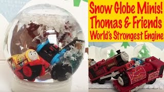 Snow Globe Minis - Thomas And Friends World's Strongest Trackmaster Engine