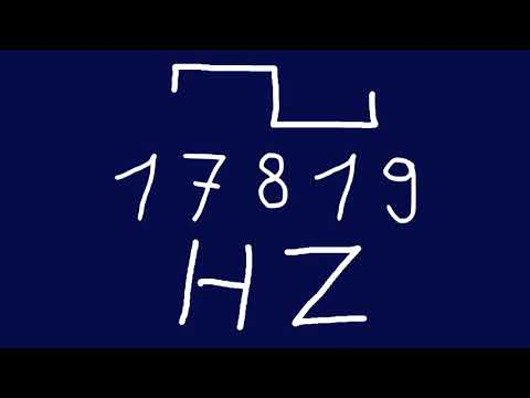 17819 hz square