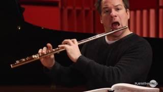 Emmanuel Pahud online flute classes,Dvorak 8, Flute Studies